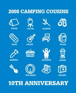 CAMPING-COUSINS 2008