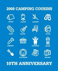 CAMPING-COUSINS 2008