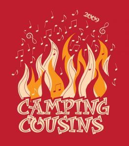CAMPING-COUSINS 2009